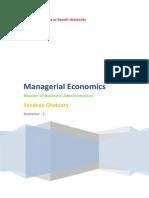 Mangerial Economics