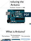 13011756 Arduino Lecture 1 Interactive Media CS4062 Semester 2 2009