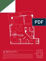 1100 Millecento floor plans