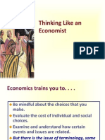19 Sept 2013. Thinking Like an Economist
