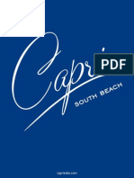 Capri South Beach floor plans