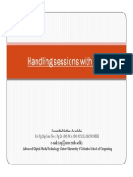 Handling sessions with PHP