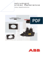 ABB OEM Instrument Transformer Reference