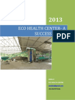 Eco health Center-An innovative approach to Municipal Slid Waste Management