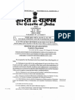 Readjustment of Representation of SCs and STs in Parliamentary and Assembly Constituencies Ordinance 2013