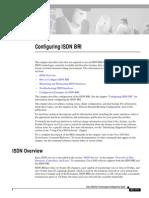 Configuring ISDN BRI