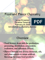 Food and Flavor Chemistry