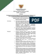 Permen PU Nomor 2 Thn 2009 Tentang Penetapan Status Penggunaan, Pemanfaatan, Penghapusan, Dan Pemindahtanganan BMN Di Lingkungan Departemen Pekerjaan Umum