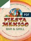Fiestamexico Print Menu