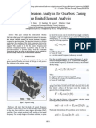 A Study of Vibration Analysis for Gearbox Casing
