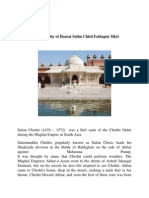 The Biography of  Hazrat Salim Chisti SIKRI