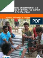 ACF WASH - GFS Module 5 - Maintenance - 01-2008 - En