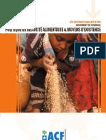 Politique de Securite Aliment a Ire Et Moyens d Existence 01.2009