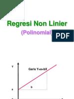 Regresi Non Linier politeknik  hvhf ghftd hgf