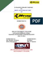 Jk Tyre Report Ed Khan Solanki Compurter