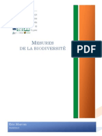 Mesures de La Biodiversite