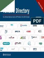 Erp Vendor Directory 2013 v1 1