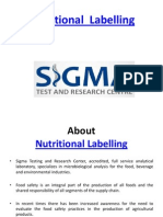 Nutritional Labelling