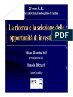 AIFI Corso 2013 Daniele Pilchard