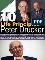 10 Life Principles Peter Drucker