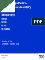 Timing Parameter v2