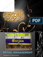 Borjan retail management plan