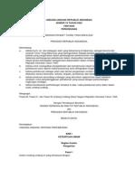 Undang Undang Nomor 18 Tahun 2004 tentang Perkebunan