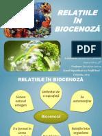 Relatiile in Biocenoza