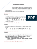CHE 2014 Filtration Practice Questions
