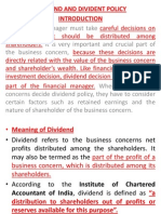 Dividend Policy DEVA