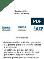 Breefing Video Jovenes ASE