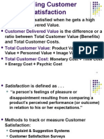 Lec on 24 & 30 July_Building Customer Satisfaction