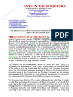 Covenants in the Scripture