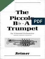 Cichowicz-The Piccolo Bb:A Trumpet