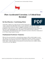 Flow-Accelerated Corrosion_ a Critical Issue Revisited - Print This Page