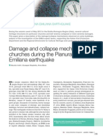 Damage and Collapse Mechanisms in Churches