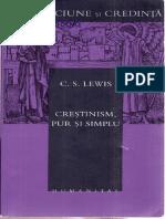 C.S. Lewis - Crestinism Pur Si Simplu