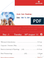 Agenda - Acute Care - 4 Amit Dr.anup Pingle 6th August '11