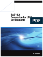 SAS UNIX