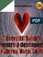 5 Exercitii Simple Pentru a Descoperii PUTEREA VOCII TALE