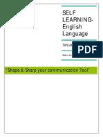 Advance English Language- Learning