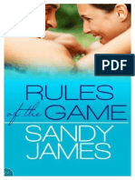 Sandy James - Rules of the Game