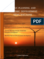 Urban Planning and Economic Development News Magazine