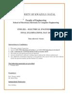 ENEL2ELH1 - Electrical Engineering