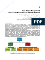InTech-Solid Waste Management Through the Application of Thermal Methods