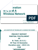 Wcdma Wireless Ntw Ppt Project Alekhya Devi