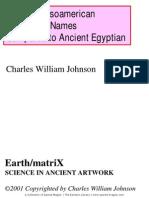Ancient Mesoamerican Names