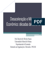 TRAJETÓRIA ECONOMICA NO PÓS- JANGO