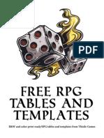 Free RPG Tables