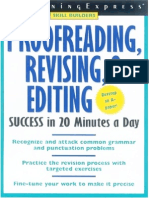 Learning Express Proofreading Revising Editing Skills Success 205p